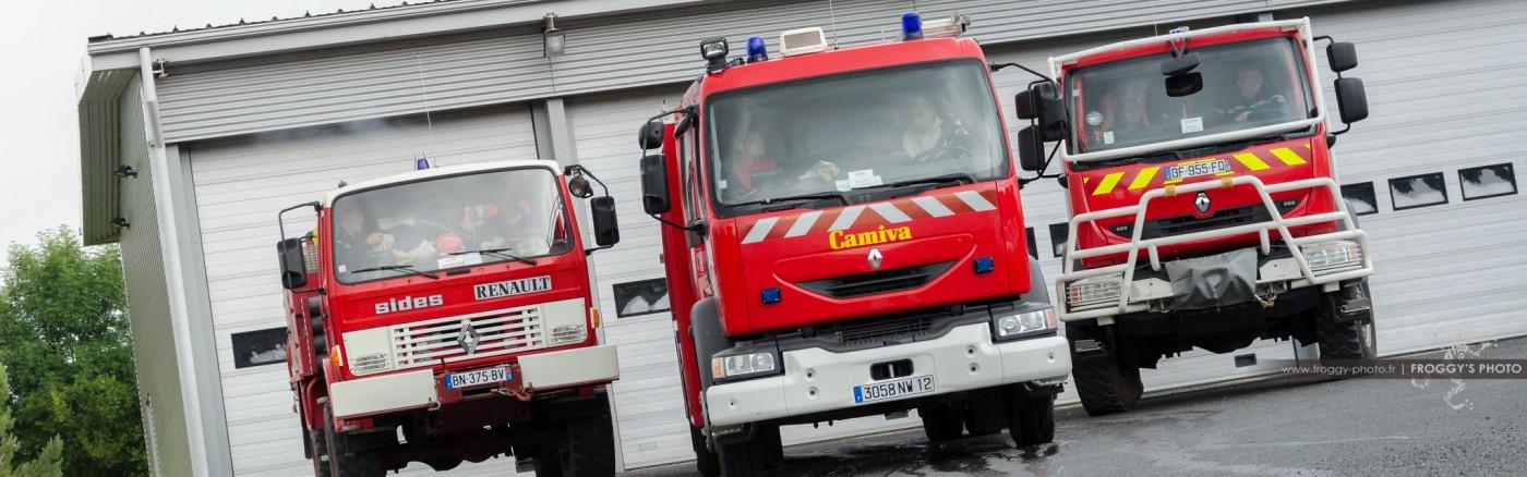 Reportage Photo Aveyron - Pompiers